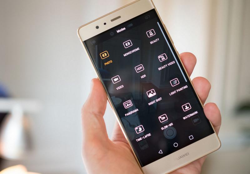 Huawei P9 menu