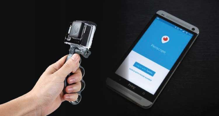 Ini Cara Live-Stream Pakai Periscope dan GoPro