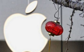 Apple di China