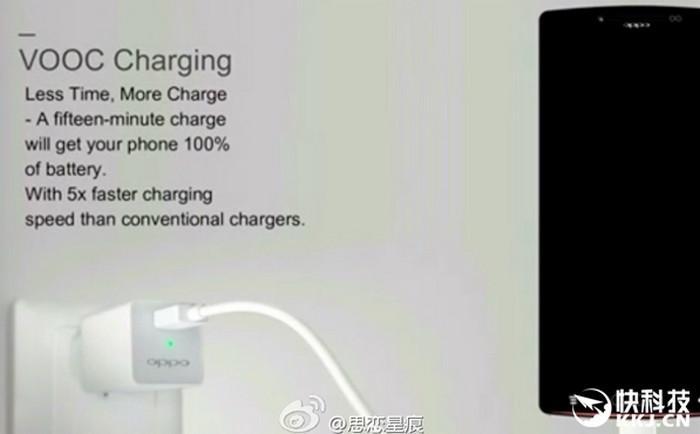 Oppo VOOC Charging