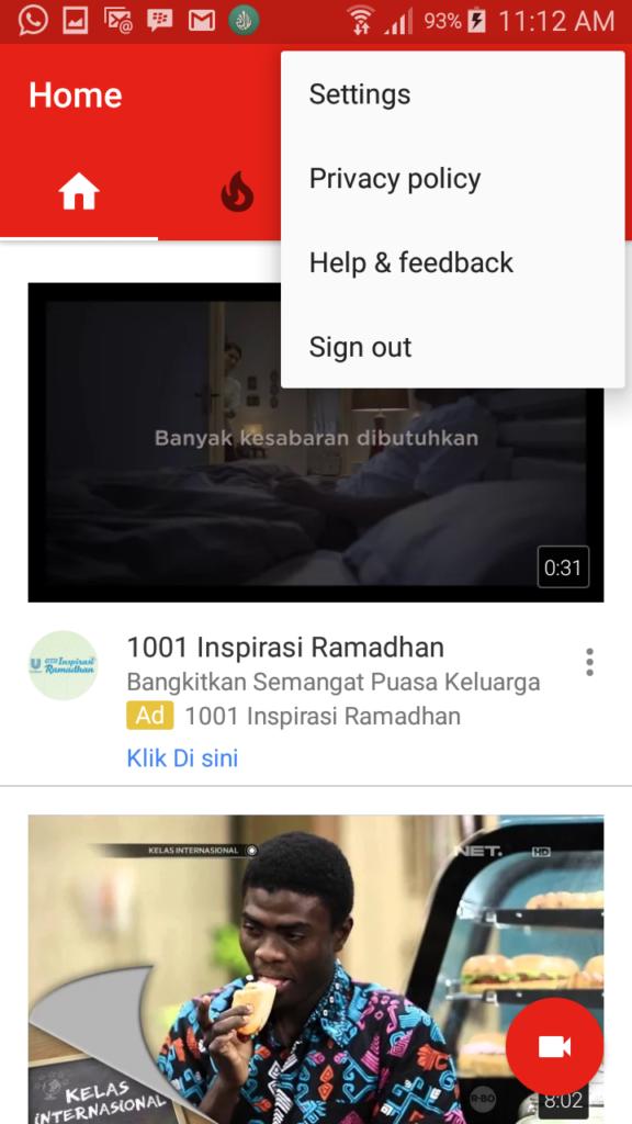 Cara Blokir Konteno Di Youtube Telset