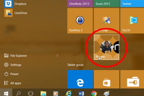 Begini Cara Atur Aplikasi People di Windows 10