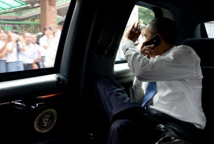 Selamat Tinggal Obamaberry, Halo Obamadroid