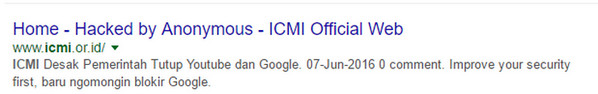 ICMI hacked