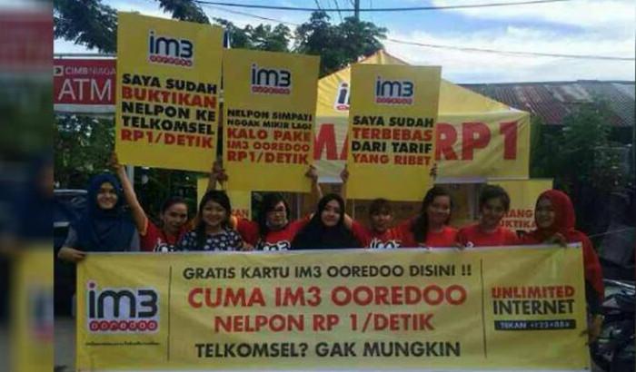 Indosat Tabuh Genderang Perang Tarif Operator