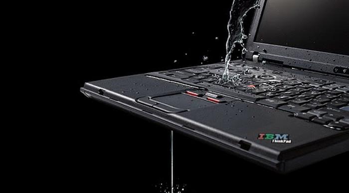 Ini yang Harus Dilakukan Jika Laptop Tersiram Air