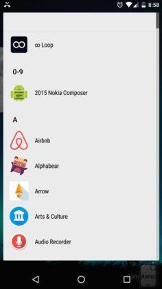 Ubah Arah Scrolling App Drawer dengan Nova Launcher