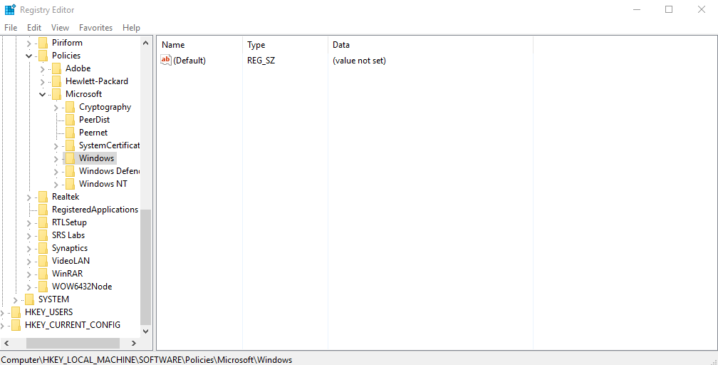 cara menonaktifkan lock screen windows 10 registry edit