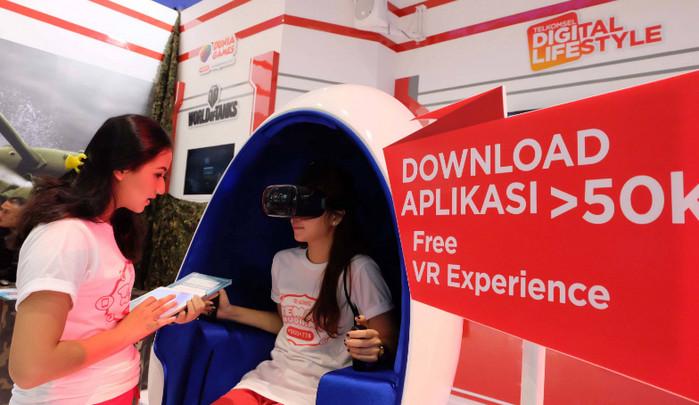 Telkomsel Jakarta Fair 2016