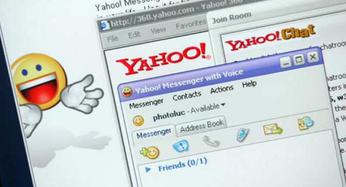 Yahoo Messenger box