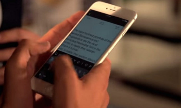 trik mengetik cepat di iphone