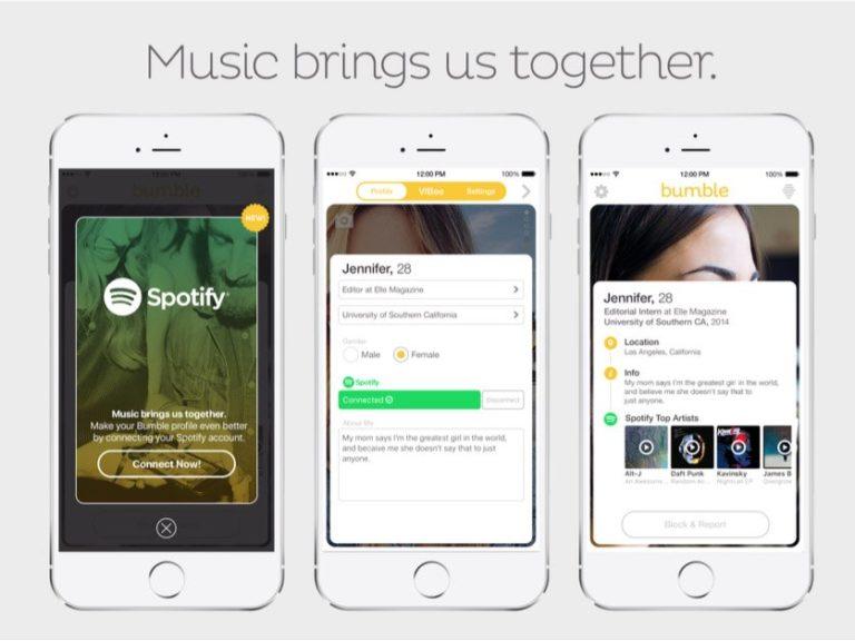 Bumble & Spotify 'Comblangin' Penyuka Musik
