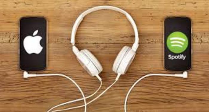 Apple Music Belum Mampu Susul Spotify
