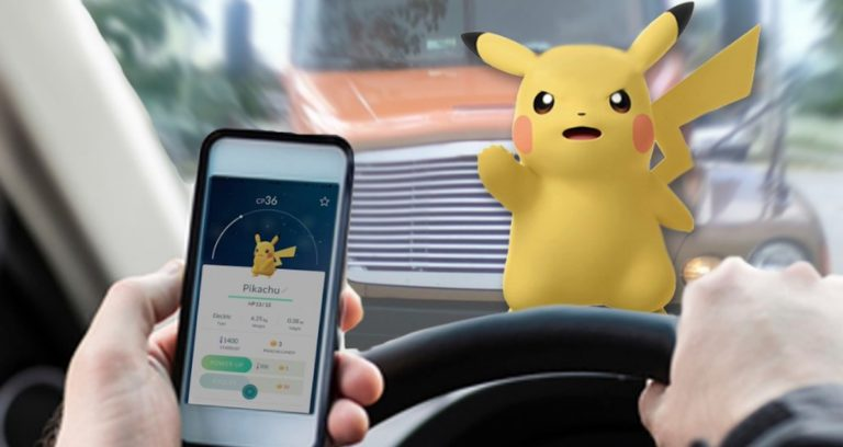 Main Pokemon Go Sambil Nyetir, Pria Ini Seruduk Pagar Sekolah
