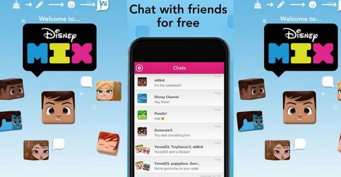 Disney Mix, Saatnya Anak-anak Punya Aplikasi Messaging Sendiri