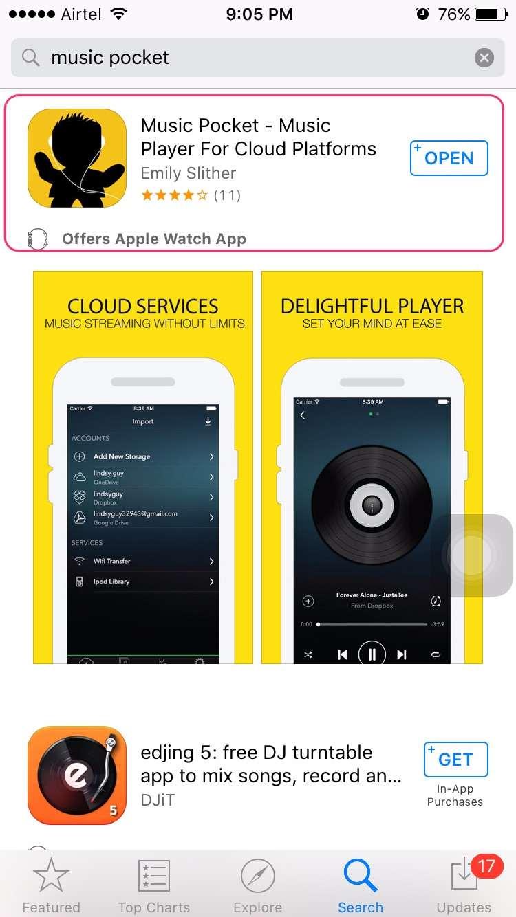 Download Music Pocket