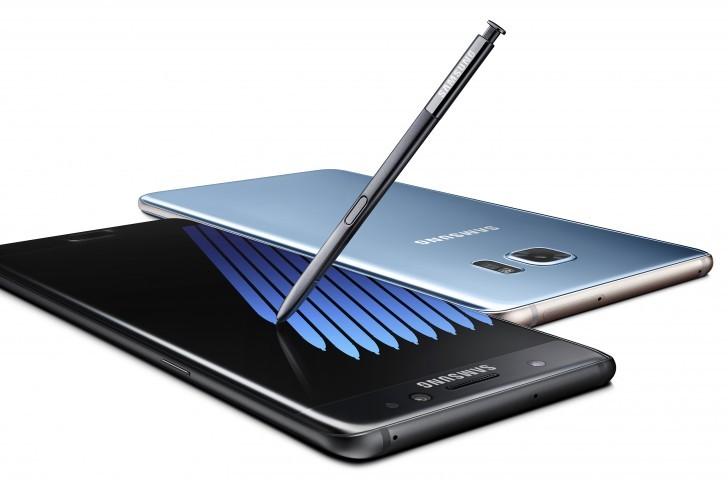 Samsung Tandai Note 7 Pengganti dengan Huruf S Biru di Kemasan