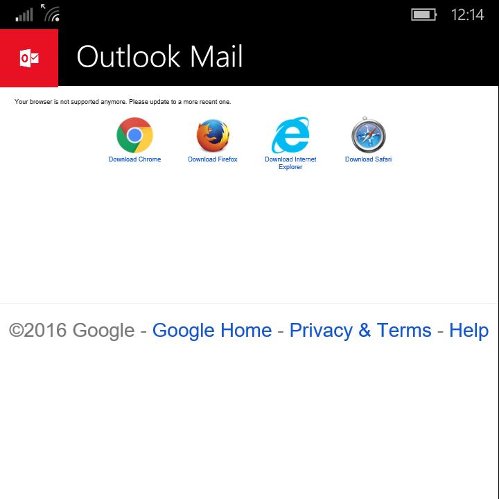 Google Outlook