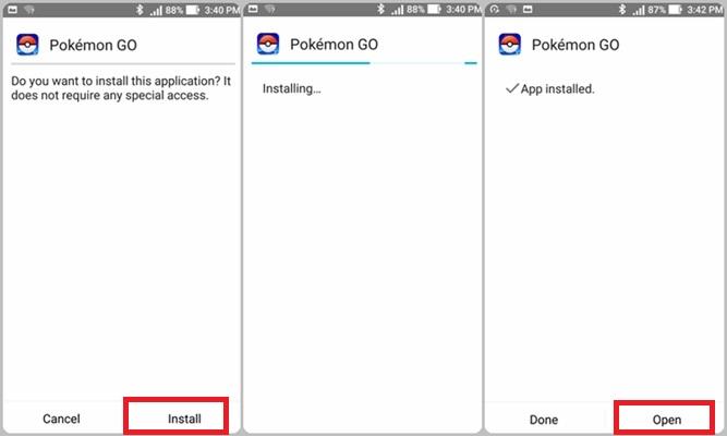 Pokemon GO Asus 4