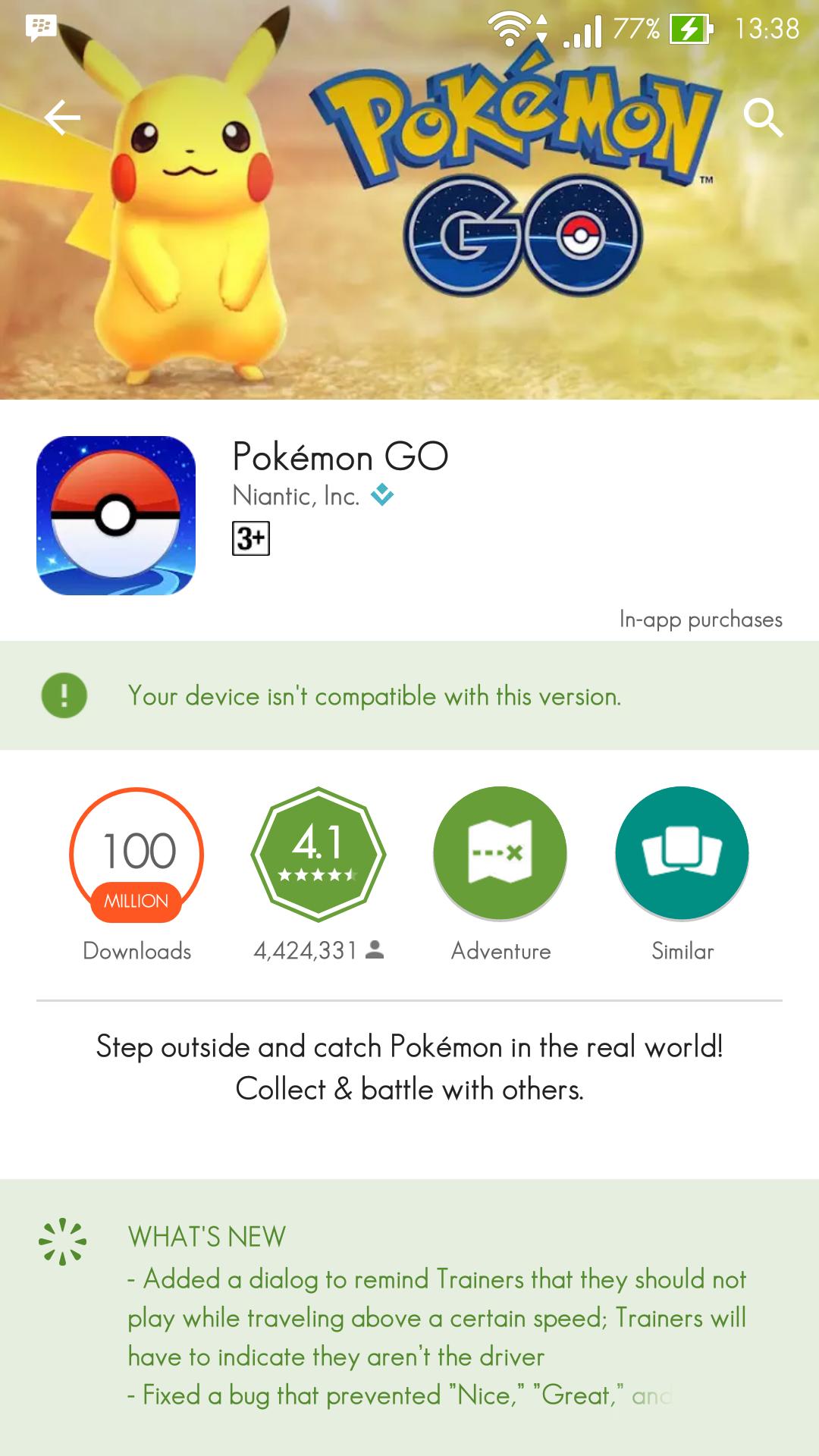 Pokemon GO Asus