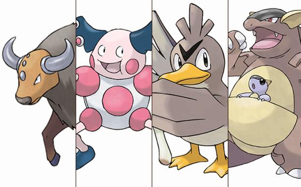 Regional Rare Pokemon