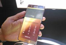 Galaxy Note 7 meluncur