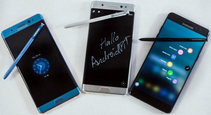 Stylus Galaxy Note 7