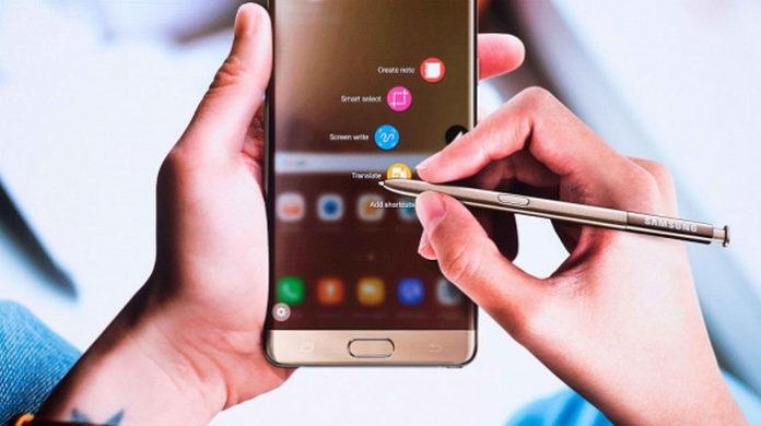 Galaxy Note 7 meledak