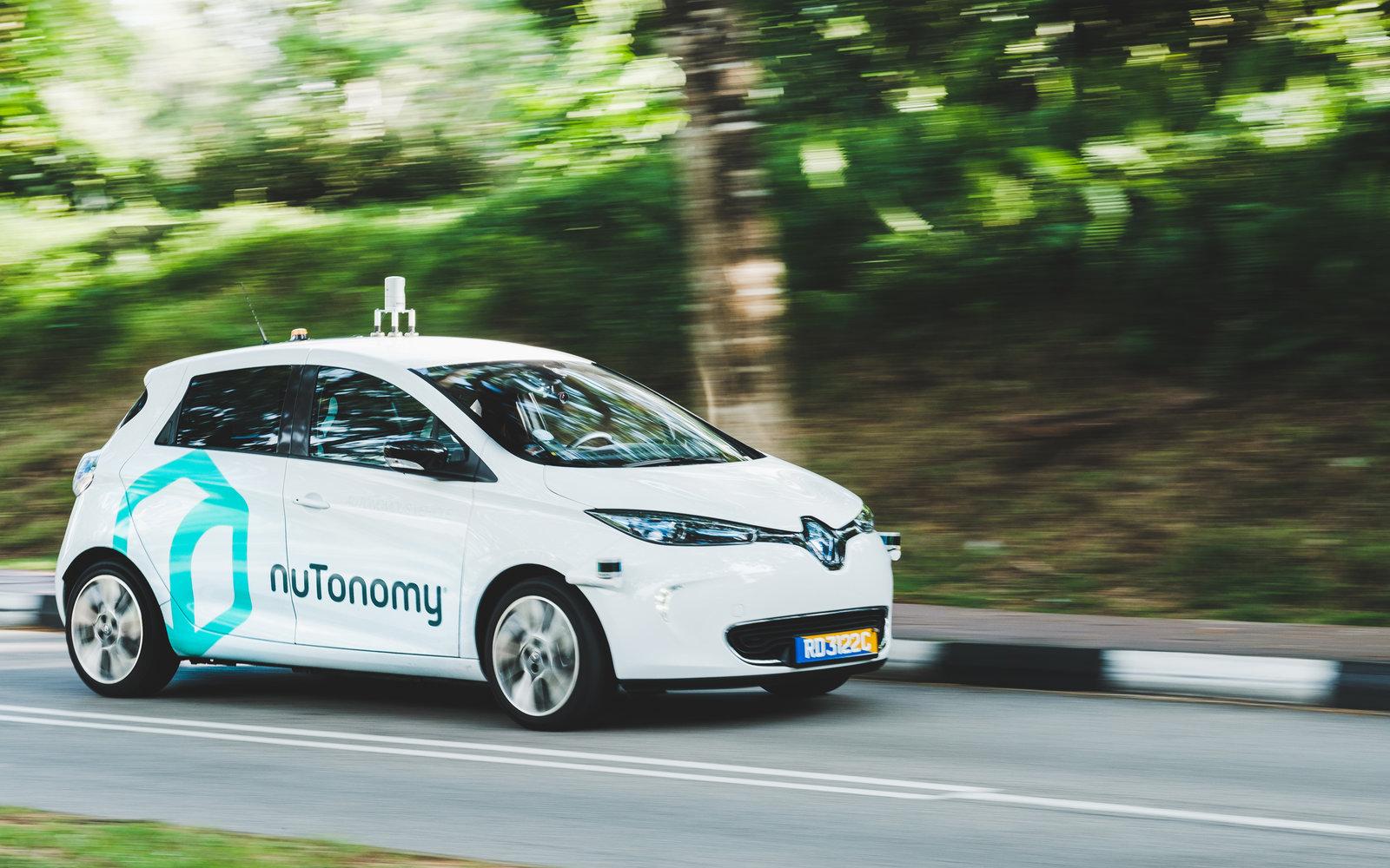Taksi Tanpa Pengemudi Pertama di Dunia Melenggang di Singapura