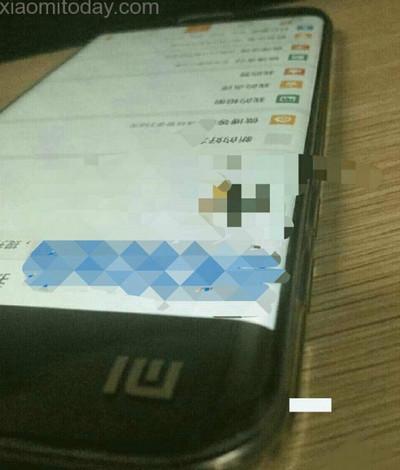Xiaomi ponsel layar lengkung leaks