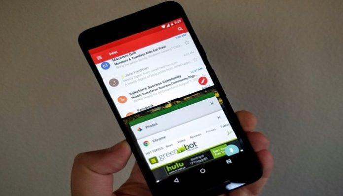 Mode Split Screen di Android Nougat