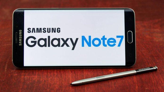 Galaxy Note 7 versi aman