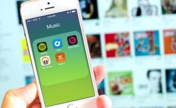 aplikasi musik streaming