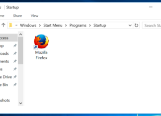 startup di Windows