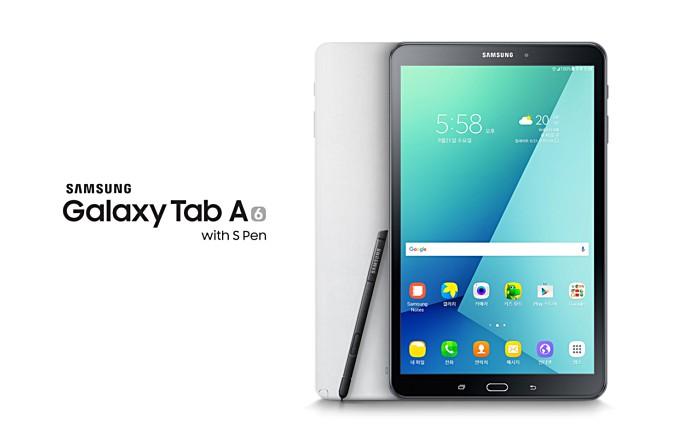 Samsung Luncurkan Galaxy Tab A (2016) dengan S Pen