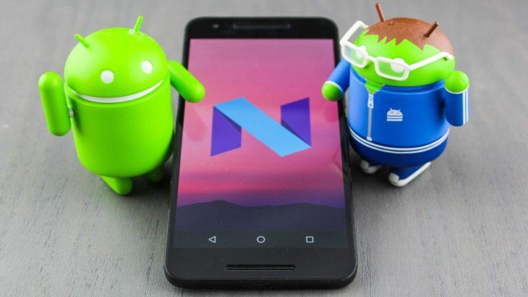 Update Android 7.0 Nougat Sambangi Android One