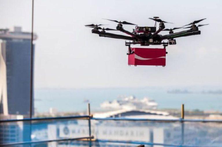 Pelanggan di Selandia Baru Terima Antaran iPhone 7 dari Drone