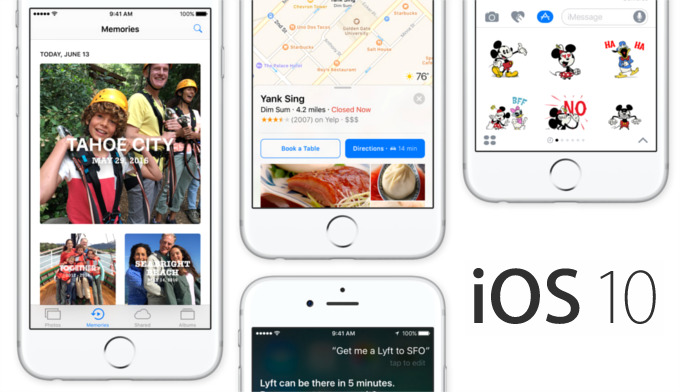 Apple Umumkan Tanggal Rilis iOS 10