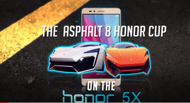 "Gameloft Advertising Solutions dan Honor Mengumumkan Kesuksesan  ""Asphalt 8 Honor Cup"""