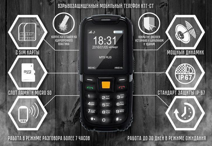 Ponsel tahan ledakan