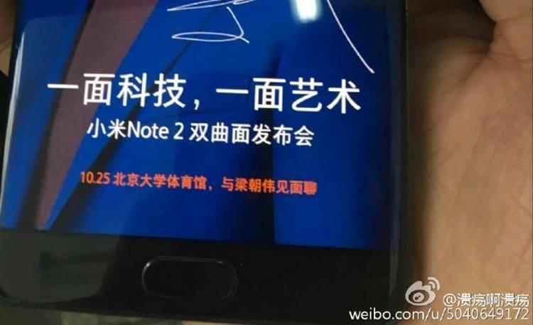 Tampang Xiaomi Mi Note 2 Makin Nyata