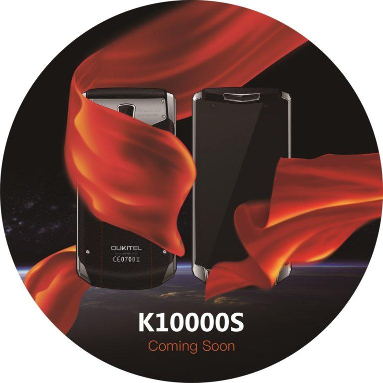 Oukitel K10000S, Smartphone Dengan Baterai 10.000 mAh