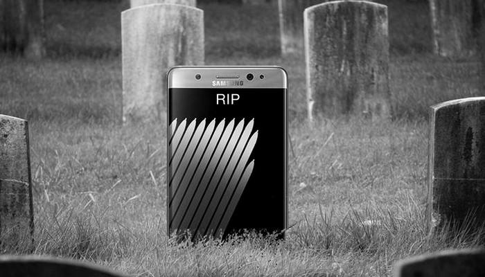 Samsung akan Rilis Update untuk 'Matikan' Galaxy Note 7