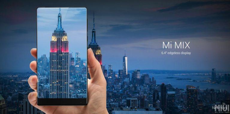 Pecahkan Rekor, Xiaomi Mi MIX Terjual Habis dalam 10 Detik
