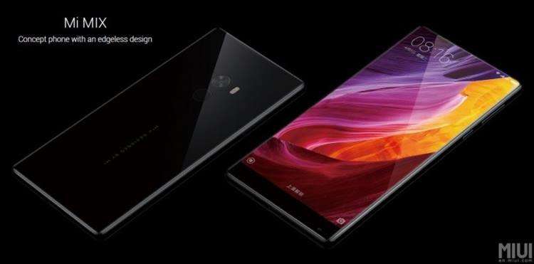 Xiaomi Perkenalkan Mi MIX, Smartphone Tanpa Bezel