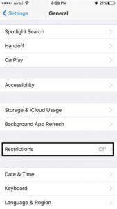 Menyembunyikan Aplikasi di iPhone