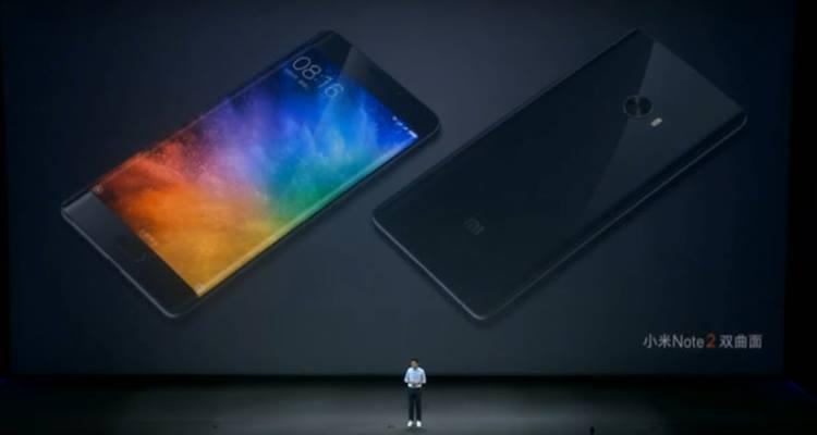 Xiaomi Mi Note 2 Resmi Meluncur dengan Layar <i>Dual-curved</i>
