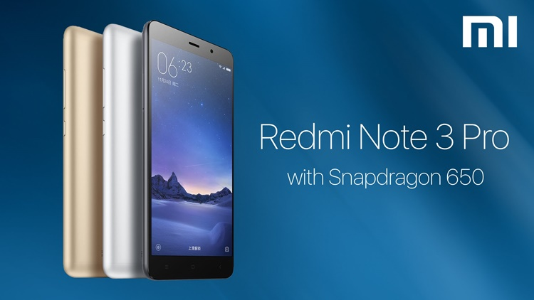 Xiaomi Redmi Note 3 Pro Dibekali Spek Menggiurkan