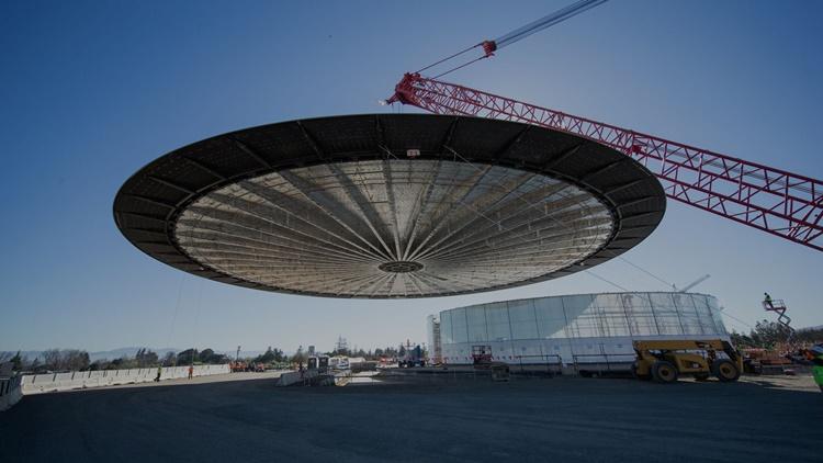 Seperti Ini Wujud Apple Campus 2 yang Mirip UFO