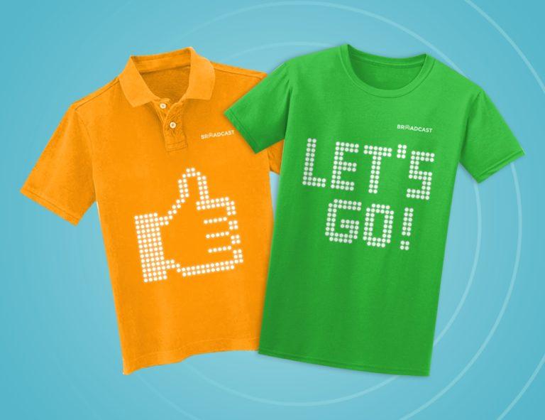 Wow, T-shirt Ini Bisa Gonta-ganti Slogan Sesuai Keinginan Pengguna
